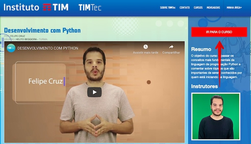 TIM Tec platform is already in tests