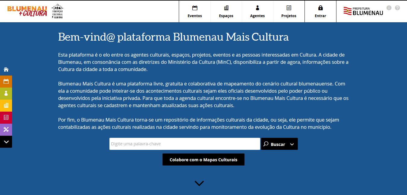 Blumenau Mais Cultura - Blumenau (SC)