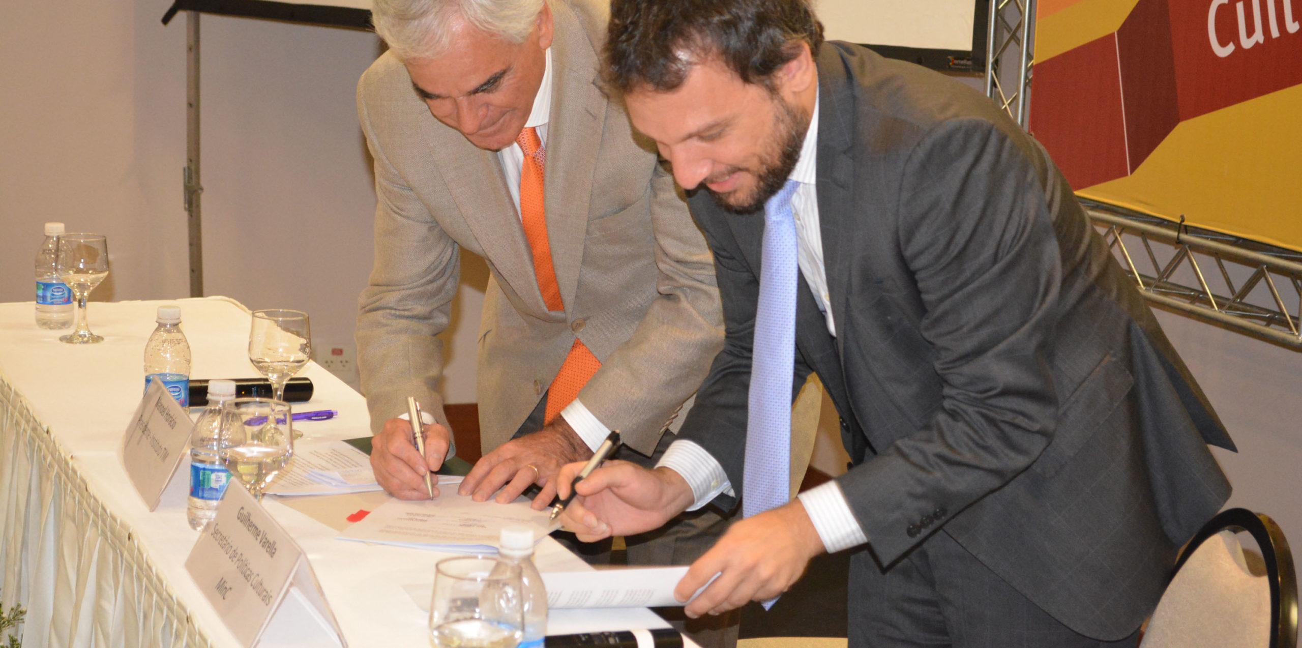 Instituto TIM e MinC assinam acordo