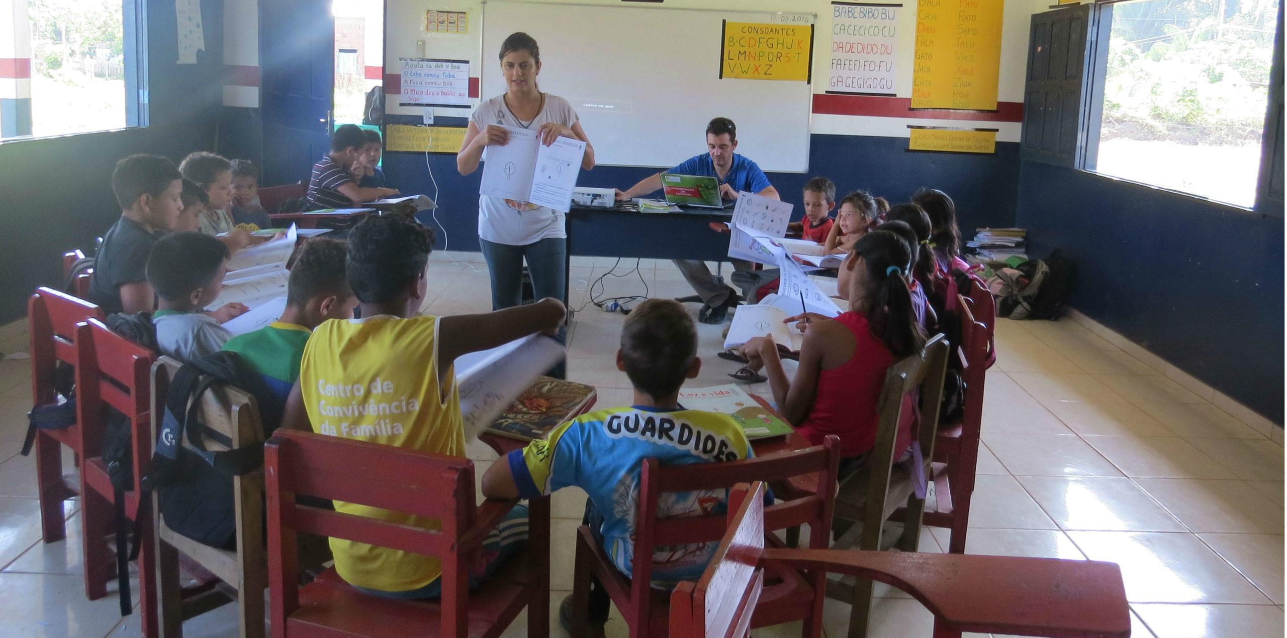 Projetos para crianças da Amazônia