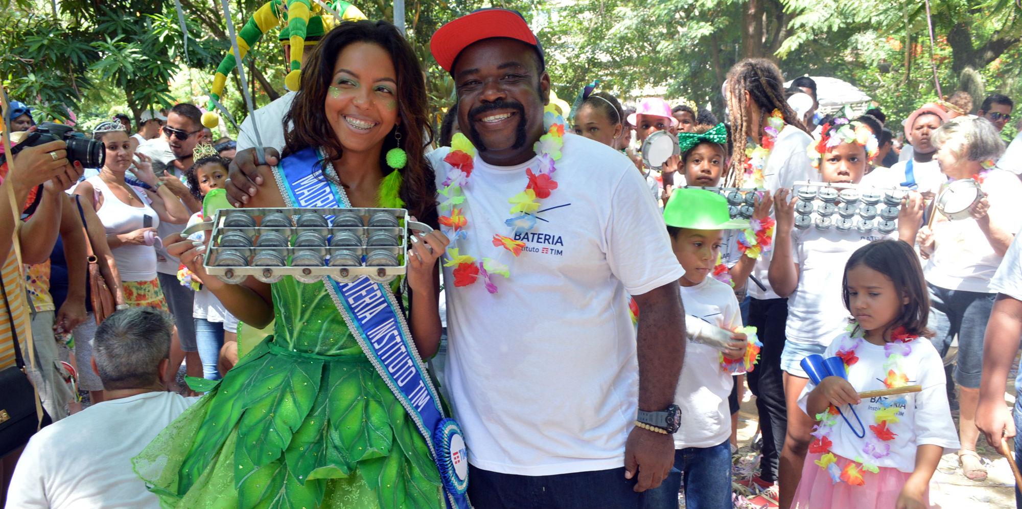 Madrinha da Bateria do IT estreia no Carnaval