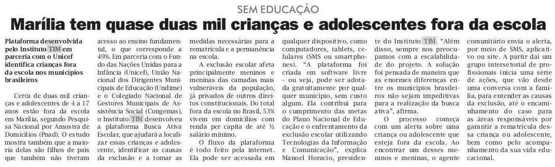 02_07_2017_jornal-da-manha_marilia-tem-quase-duas-mil-criancas-e-adolescentes-fora-da-escola