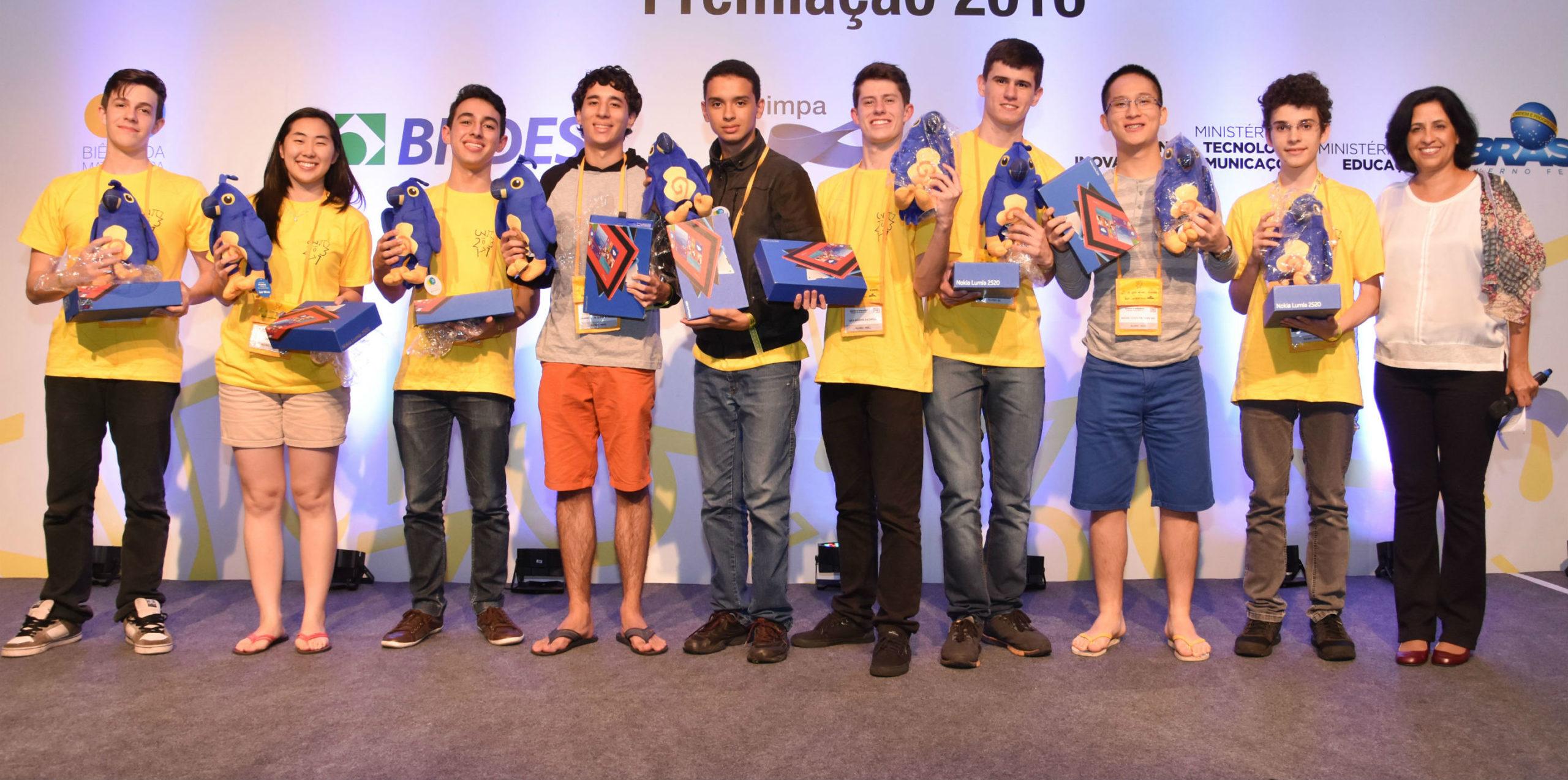 Tablets e mais 50 bolsas na premiação da OBMEP