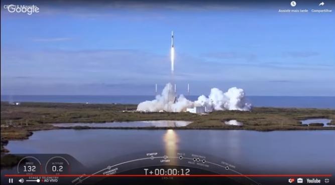 Garatéa: Foguete com experimento viaja ao espaço