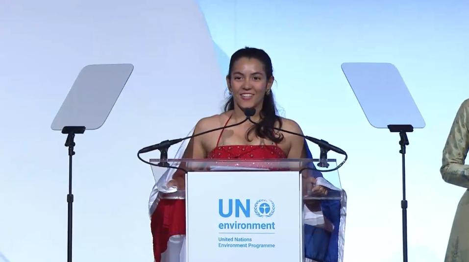 ONU premia participante de AWC 2018