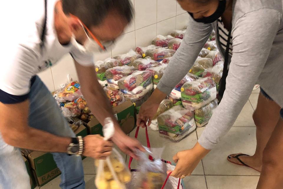 Instituto TIM takes part in a solidarity network for donating food